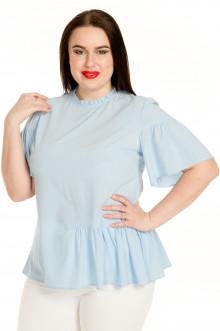 Блузка 726 Luxury Plus (Голубой)