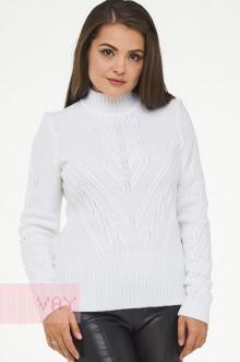 Свитер женский 4586 Фемина (Белый)