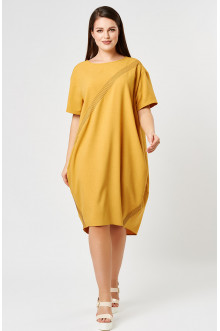 """Платье """"Лина"""" 52141 (Карри)"""