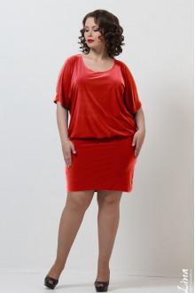 """Платье """"Лика"""" Лина (Красный)"""