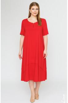 """Платье """"Джоли-2"""" Лина (Красный)"""