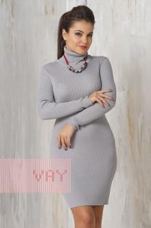Платье женское 2235 Фемина (Светло-серый)